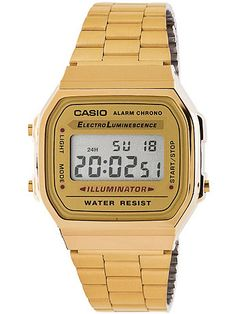 A168WG9-A Casio Stainless Steel Digital Watch Inspired Designs From 1998