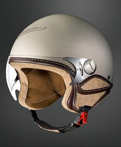 Love the old-world helmet