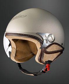 Love the old-world helmet