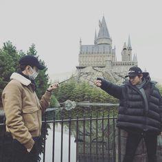 Harry Potter versão Exo