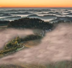 Misty curtains by Peter Zajfrid on 500px