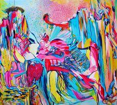 "Saatchi Art Artist Diana Roig; Painting, ""Echoes of Sounds"" #art"