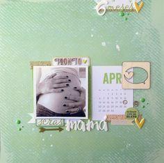 regalo para el día de la madre con los papeles de #brillante de la marca @Boutique e-Scrap