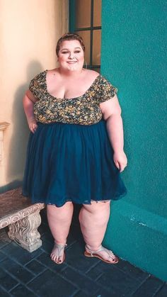 Navy Skirt, Plus-size Skirt, Tulle Skirt, Tutu Skirt, Soft Skirt Thick Girl Fashion, Curvy Women Fashion, Plus Size Fashion, Plus Size Resort Wear, Curvy Outfits, Fashion Outfits, Big Size Dress, Asos, Big And Tall Outfits