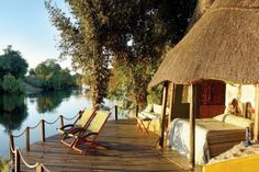 Sindabezi Island (Zambia) A private Island on the Zambezi River