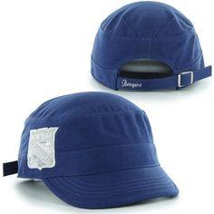 151d8d3921760  47 Brand New York Rangers Ladies Sparkle Fidel Adjustable Cadet Hat - Royal  Blue Rangers