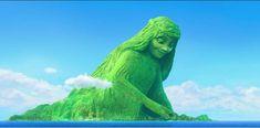 Gif Disney, Disney Magic, Moana Gif, Moana 2016, 4 Element, Gifs, Lion Sculpture, Island, Statue