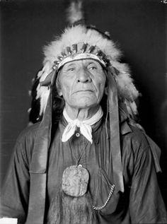 Chief Walks Under Ground - Oglala