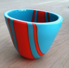 Drop Ring Bowl #1 by Larry Pile