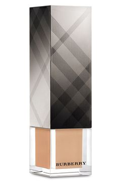 Light and a total no foundation look! Burberry Beauty Sheer Luminous Fluid Foundation available at Foundation For Sensitive Skin, Glow Foundation, Indian Makeup Beauty, What Is Contour Makeup, Burberry Makeup, Makeup Items, Perfume, Beauty Make Up, Makeup Collection