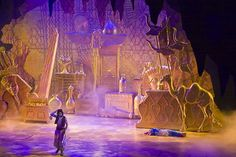 Cave of Wonders - gold flats & purple lighting