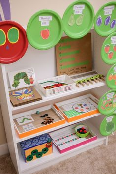 The Very Hungry Caterpillar Activities for Toddlers and Preschoolers Children will love these fun learning activities based on the popular storybook The Very Hungry Caterpillar by Eric Carle. Toddler Preschool, Toddler Activities, Learning Activities, Preschool Activities, Fun Learning, Toddler Learning, Preschool Rooms, Nursery Activities Eyfs, Toddler Counting