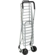 Polder® Folding Shopping Cart | Crate and Barrel