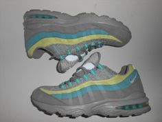 149.99$  Buy now - http://vipqy.justgood.pw/vig/item.php?t=amuwchm30967 - 2011 Nike Women's Air Max '95 Medium Grey Ctrn Yellow Size 12 (336620-009)