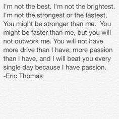 Eric Thomas                                                                                                                                                                                 More