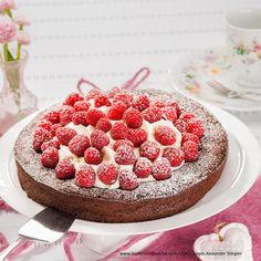 Schokoladentorte Raspberry, Cheesecake, Fruit, Sweet, Desserts, Food, Pie, Gluten Free Recipes, Melted Chocolate