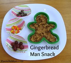 Gingerbread Man Snack by JDaniel4's Mom