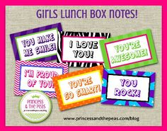 20 Back To School Free Printables First Day Of School Signs and Lunch Box Notes