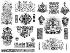 Картинки по запросу графические узоры эпохи возрождения