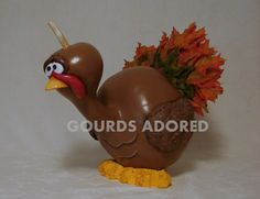 Your place to buy and sell all things handmade Gourd Crafts, Gourds Birdhouse, Holiday Gifts, Holiday Decor, Painted Gourds, Gourd Art, Thanksgiving Turkey, Autumn, Fall