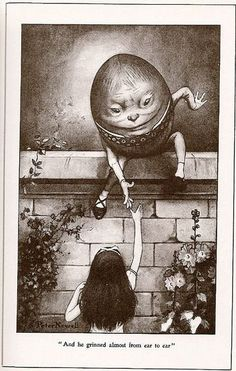 Humpty Dumpty & Alice by Peter Newell