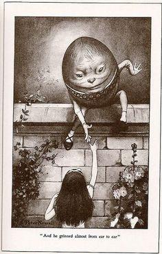 Humpty Dumpty & Alice by Peter Newell