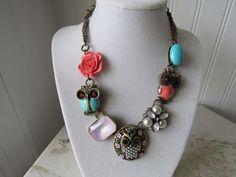 Betsey Johnson Owls Necklace  Awesome!! | eBay