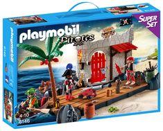 Playmobil Pirates, Super Sets, Pirate Party, Painting, Ebay, Amazon, Treasure Island, Forts, Pirates