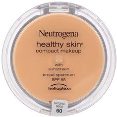 Neutrogena Healthy Skin Compact Makeup, Natural Beige [60] 0.35 oz (Pack of 3) *** This is an Amazon Affiliate link. Check out the image by visiting the link.