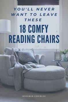 The best reading chairs are roomy, inviting, and so comfortable you could happily spend hours in them. Check out these inspirational opens for use in your home. #reading #chair #readingchair