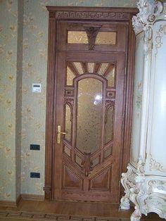 Wooden Main Door Design, Wood Entry Doors, Home Decor, Puertas, Decoration Home, Room Decor, Home Interior Design, Home Decoration, Interior Design