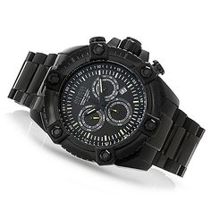 631-229 - Invicta Reserve 56mm Octane Swiss Quartz Chronograph 62 Tritium Tube Bracelet Watch