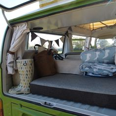"""""""VW but renovation with handmade and vintage details -cozy and homey!"""" this gives me an idea..."""