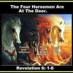 The Four Horsemen of the Apocalypse Horsemen Of The Apocalypse, Jesus Is Coming, Bible Truth, Scripture Study, After Life, Spiritual Warfare, Spiritual Growth, Christian Inspiration, Christ