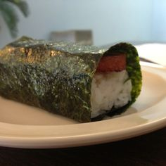 Spam Musubi @ Ross Js Hawaiian Food