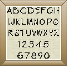image 0 Pixel Font, Dmc Floss, Im Trying, Embroidery Stitches, Cross Stitch Patterns, Etsy Seller, Encouragement, Fonts, Letters