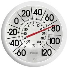 Outdoor Thermometer Large Dial Weather Temperature, Patio Wall Garden Decor for sale online Outdoor Walls, Indoor Outdoor, Outdoor Living, Temperature Weather, Xtreme, Patio Wall, D 20, White Home Decor, Large Prints