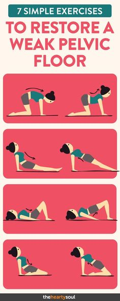 Strengthen your pelvic floor muscles with these simple exercises! - Strengthen your pelvic floor muscles with these simple exercises! Strengthen your pelvic floor muscles with these simple exercises! Floor Workouts, Easy Workouts, At Home Workouts, Fitness Motivation, Fitness Workouts, Exercise Motivation, Motivation Quotes, Fitness Goals, Fitness Inspiration