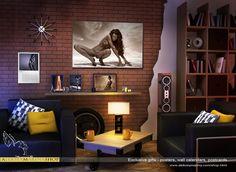 Interior art photo-posters. Aleksey&Marina photography.