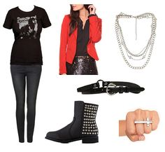 Joan Jett Inspired Outfit 1