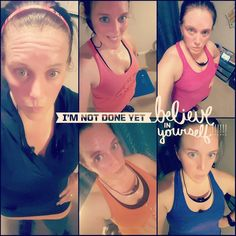 """For the past 10 Days I have worked out 7 of them!!!!! Yes I know their are only 5 pictures but my mommy duties prevented me from taking a picture to prove it! BUT I #PROMISE  I did it   Normally I will post after every #workout but being consistent with my workouts have been a #MAJOR issue with me lately so I decided to post 1 picture!  I have decided to just #PUSH myself and throw my hands up to God and Say """"I am taking myself out of the RACE to be the Advocate Fitness Icon!"""" I want to be…"""
