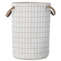 Ferm Living - Panier à Linge -Grid Laundry Basket