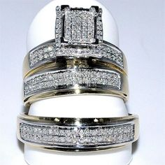 Superb Gold Wedding Rings For Him And Her