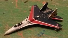 Sukhoi Su-27 Flanker-B Fighter Ver.3 Free Aircraft Paper Model Download