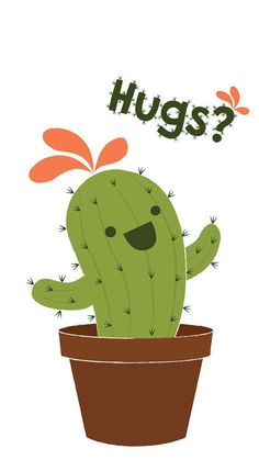 cactus themed wallpapers to make your phone more beautiful! If you are a fan of cactus, you need Cactus Drawing, Cactus Art, Cactus Plants, Mini Cactus, Birthday Tattoo, Cute Illustration, Cute Drawings, Cute Wallpapers, Zentangle