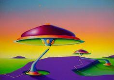 Arcadia, 2010, olio e acrilico su tela, 70x100 cm - Ignazio Mazzeo #art #painting #colours #nature #ignaziomazzeo