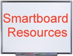 Lists of resources for the smartboard