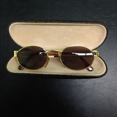 Gianni Versace Vintage 1980's-1990's Sunglasses These vintage sunglasses are very rare and hard to find. Kept well, and loved. Made In Italy mod S68 col.55M Versace Accessories Sunglasses