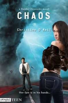 .CHAOS (Kardia Chronicles, #1) by Christine O'Neil. My name is Maggie Raynard. After sixteen years being just plain me, suddenly I can kill people when I lose my temper. Turns out I'm a semi-god, descended from Aphrodite. Sounds cool in theory, but when I accidentally put my ex-boyfriend in a coma, things go downhill pretty fast.  Now some new guy named Mac Finnegan has made it his mission in life to continually piss me off....more Expected publication: August 19th 2013