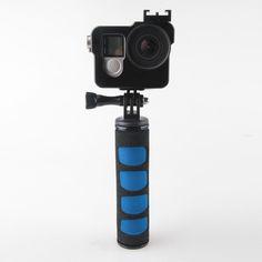 1pcs High Quality Sponge Handheld Stabilizer Handle Stand Grip for Gopro SJCAM Camera Tripod LED